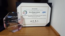 Prix du meilleur poster à la 15th Spacecraft Charging Technology Conference SCTC 2018